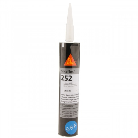 Sikaflex 252 PU lijm wit koker 300ml (12x)