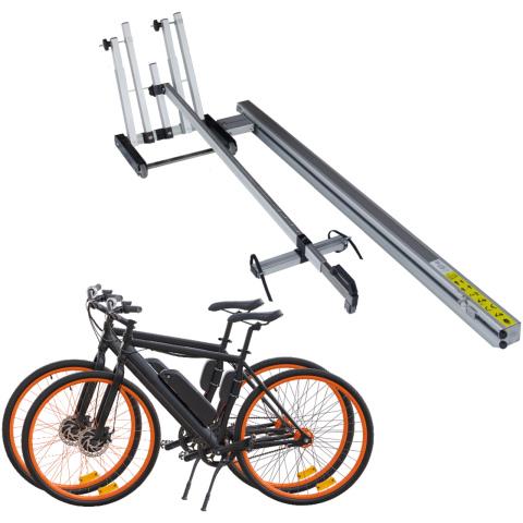 Pollicino laadbaan voor 2 fietsen & E-bikes (1x)