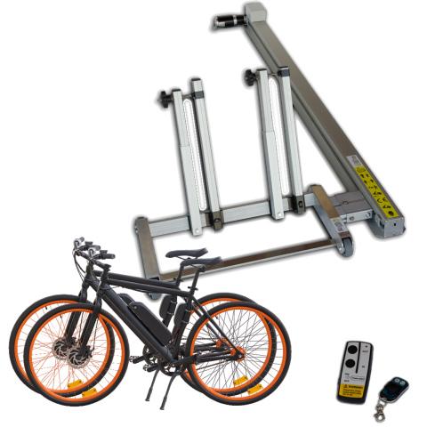 Pollicino laadbaan voor 2 fietsen of E-bikes (1x)