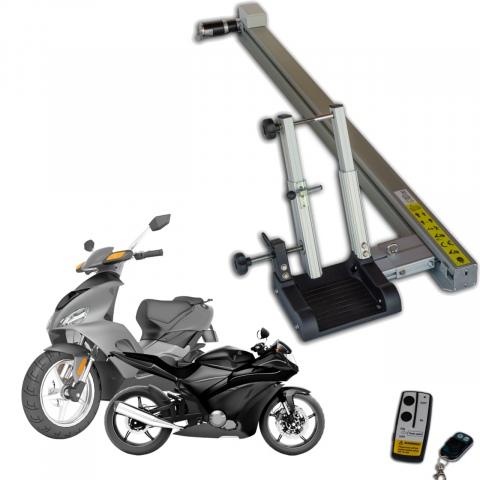 Pollicino laadbaan voor scooter of motorfiets (1x)