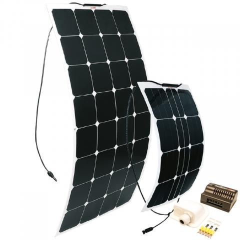Zonnepaneelset Flex 110Wp + MPPT 300W regelaar (1)