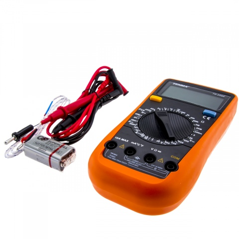 Digitale Multimeter 1000V CAT II max. 20A (1x)