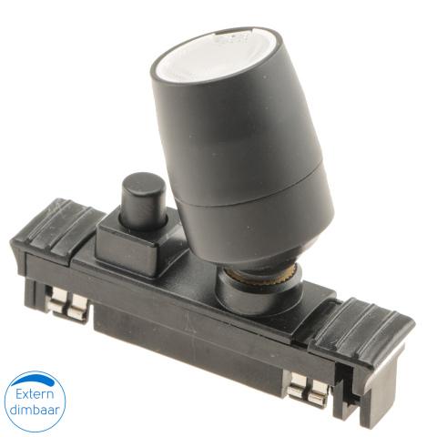 Rialto B LED spot met schakelaar 12V 1W (1x)
