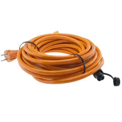 Defa kabel 2.5mm2 oranje 10m (1x)