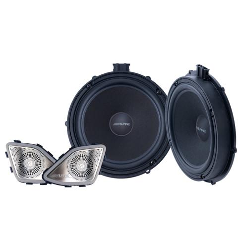 Alpine 2-weg 20cm speakersysteem voor VWT6 (1x)