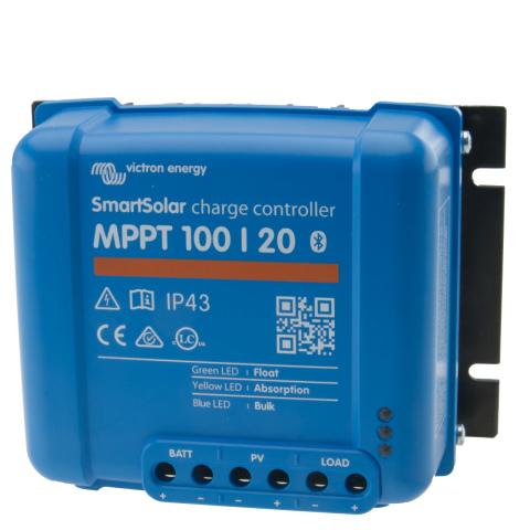 Victron Smart Solar MPPT regelaar 100/20A (1x)