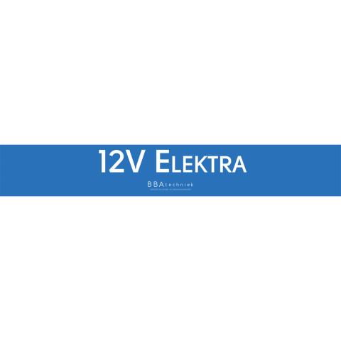 BBA shop stellingbord 12V Elektra (1x)